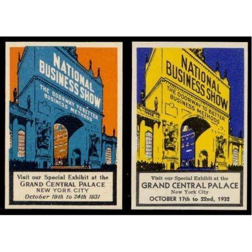 National Business Show 1931-2 Poster Stamps