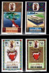 BAHRAIN Scott 182-185 MNH** Independence set