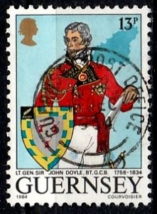 Guernsey 1984 SG. 328 used (10812)