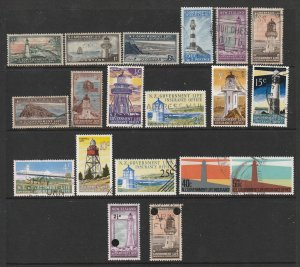 New Zealand a small mainly used lot of later Govt. Life