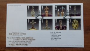 Great Britain 2011 The Crown Jewels FDC