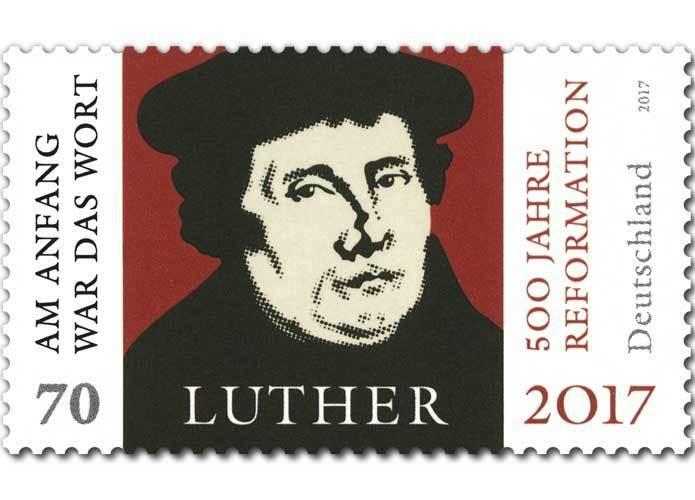 Z07 BRD Deutschland Germany 2017 Martin Luther 500 Reformation Joint with Brasil