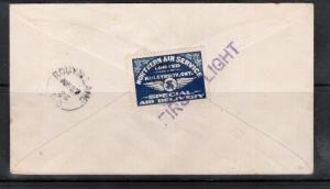 Canada #CL5 Very Fine Used On Cover With Lovely First Flight Cancel