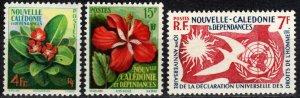 New Caledonia #304-6 F-VF Unused  CV $10.00 (X3053)