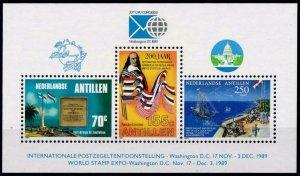 1989 Netherlands Antilles 671-73/B35 Ships with sails 7,00 €
