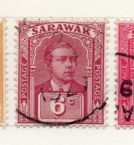 Sarawak 1922-23 Early Issue Fine Used 6c. 196158
