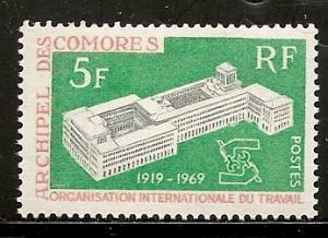 Comoro Islands 83 1969 50th ILO NH