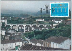 68875 - PORTUGAL Azores Açores  - Postal History - MAXIMUM CARD 1984  EUROPA