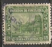 COSTA RICA 155 VFU Z912-1