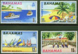 BAHAMAS Scott 290-3 Tourism set MNH** 1970