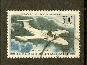 France, Scott #C34, 300fr MS 760 Paris, F-VF Centering, Used