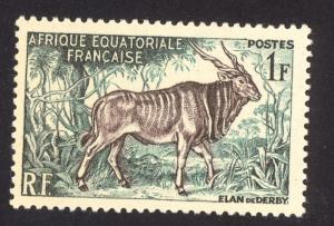 French Equitorial Africa 195 MH
