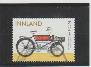 Norway  Scott#  1879  Used  (2019 Ideal Commuter Bicycle)