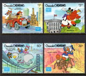 Grenada Grenadines 753-756 Disney's MNH VF