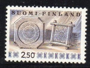 Finland Sc 568 1976 2.5m Cheese Frames stamp mint NH