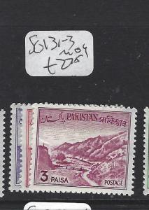 PAKISTAN  (PP0307B)     SG 131-3   MOG
