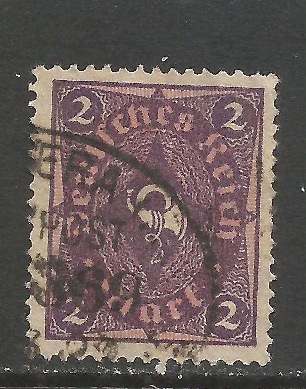 GERMANY 150 VFU N186