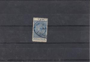New Zealand Stamp Duty Stamp Ref: R5386