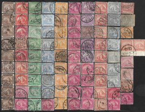 COLLECTION LOT OF 90 EGYPT 1872+ STAMPS SPHINX & PYRAMID CLEARANCE
