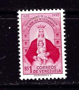Venezuela 641 NH 1952 issue