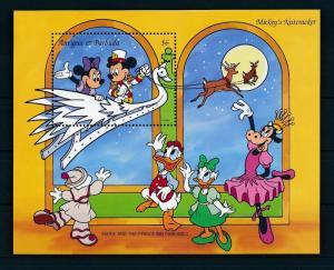 [22148] Antigua & Barbuda 1993 Disney Mickey Minnie Mouse Nutcracker MNH