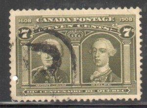 Canada #100 VF USED C$150.00