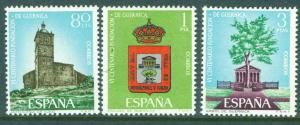 SPAIN Scott 1347-1349 MNH** Guernica & Luno set 1966