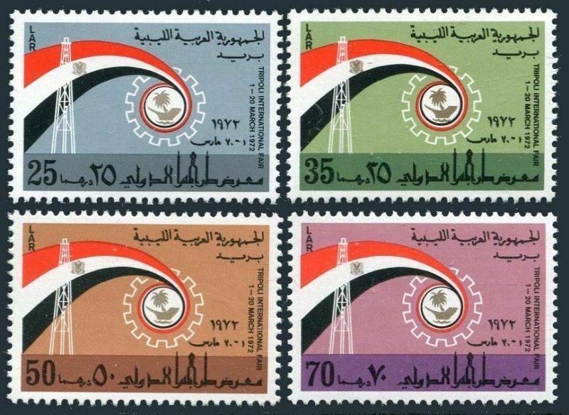Libya 470-473, MNH. Michel 383-386. 10th Fair of Tripoli, 1972.