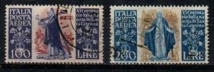 Italy Scott C127-8 Used (Catalog Value $65.00)