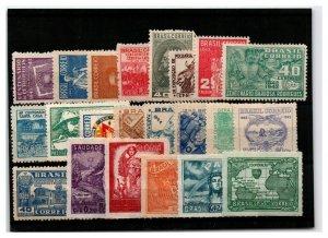 Brazil 22 Mint, few faults - C2454