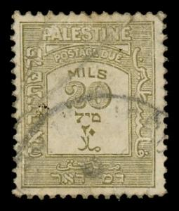 Palestine - British Administration J19 Used