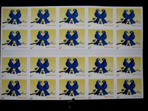 US - SCOTT# 3976a - BOOKLET PANE 20 - MNH - CAT VAL $20.00 (_4)