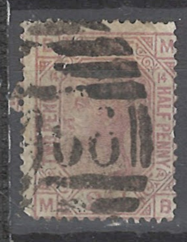 COLLECTION LOT # 2234 GREAT BRITAIN #67p14 MINOR FAULT 1876 CV=$60