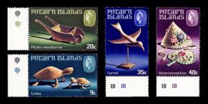 Pitcairn Islands 1980 Sc194-197 Handicraft Series MNH OG F-VF