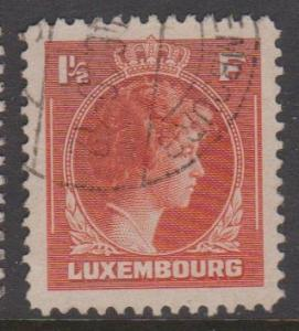 Luxembourg Sc#226 Used