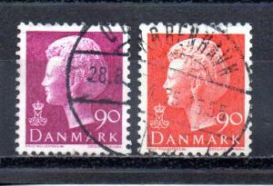 Denmark 538-539 used