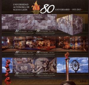 MEXICO 2832 80th Anniv. Autonomous University of Nuevo Leon