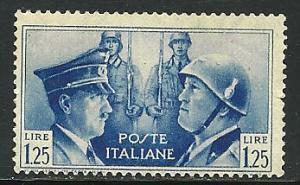 Italy # 418, Mint Hinge