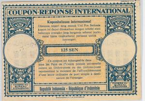 COUPON REPONSE  - London Model :  INDONESIA 1957