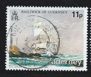 Alderney  used s.c.#  32