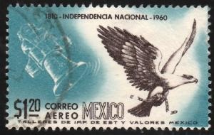 MEXICO C251, $1.20P Sesquicent Mexican Independence. USED (975)