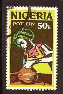 Nigeria  # 305 b  used.