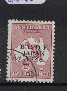 Australia BCOF Japan Occupation SG J6 VFU (5drx)