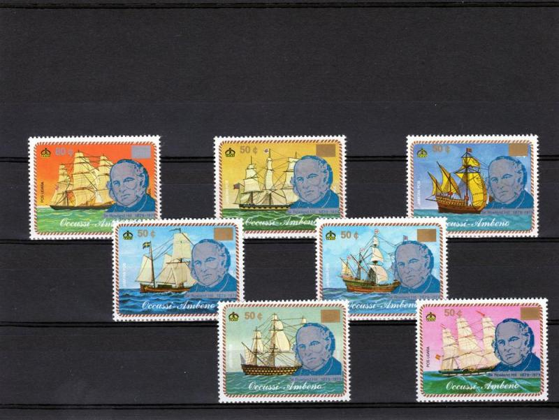 Timor 1979 (Ocussi Ambeno) Rowland Hill set Perforated mnh