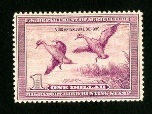 US Stamps # RW5 XF OG NH Catalog Value $375.00