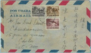91202 - INDONESIA  - POSTAL HISTORY -  AIRMAIL COVER  or VIETNAM   1958