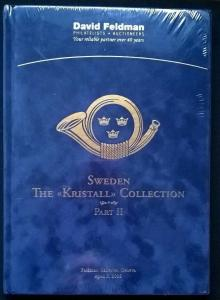 Auction catalogue SWEDEN Kristall Collection Specialised