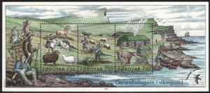 (CMA) Faroe Islands Scott #452 MNH Souvenir Sheet