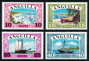 Anguilla #32-35 Set of 4 MH