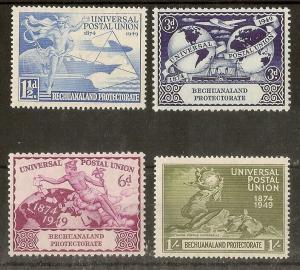 Bechuanaland 1949 UPU Set Mint